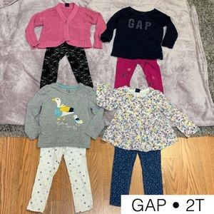 Gap 2T girl bundle